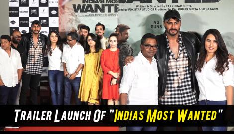 India's Most Wanted Trailer Launch.What Arjun Kapoor Has In Store For Us