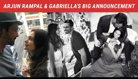 Arjun Rampal - Gabriella Demetriades Share That They Have A Little One On The Way