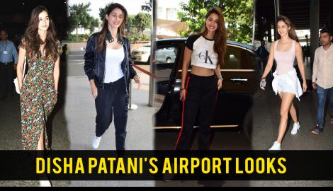 Disha Patani's airport style will make holiday travelling a breeze
