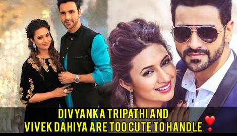 Divyanka Tripathi Dahiya and Vivek Dahiya are Real Couple goals.