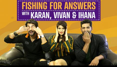 Fishing for Answers ft. Karan, Vivan & Ihana | Hate Story 4 | Pinkvilla
