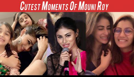 Cutest Moments Of Mouni Roy Which Will Make You Love Her