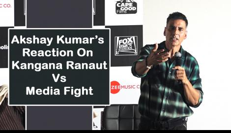 Akshay Kumar talks about Kangana Ranaut's spat with a journalist  and clash with Batla House