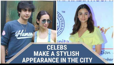 Alia Bhatt, Malaika Arora and other celebs spotted around the city