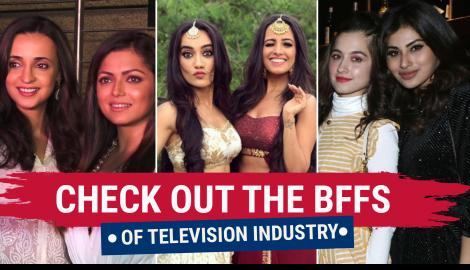 Karan Wahi & Rithvik Dhanjani to Sanaya Irani & Drashti Dhami, check out the BFFs from the TV industry