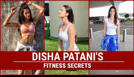 Check out Disha Patani's secret to her fitness