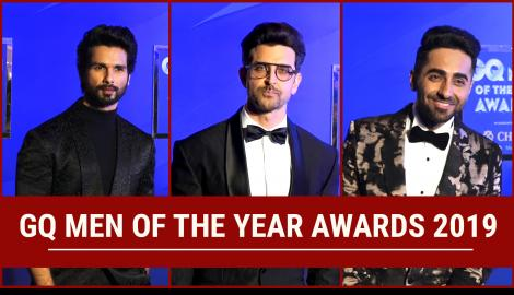 Hrithik Roshan, Shahid Kapoor and many others attend the GQ Men of the Year Awards 2019