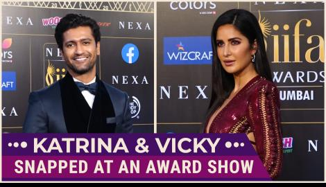 Katrina Kaif,Vicky Kaushal and others spotted at an award show