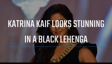 Katrina Kaif is a sight to behold as she walks the ramp for Manish Malhotra at Lakme Fashion Week