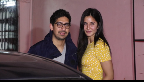 Katrina Kaif stuns in a yellow outfit as she gets papped with Ayan Mukerji in the city