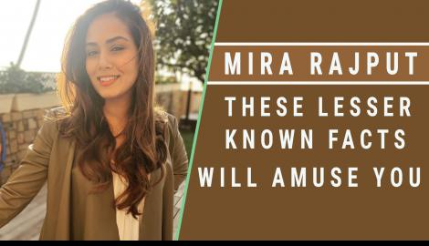 Lesser known facts about Shahid Kapoor's wife Mira Rajput