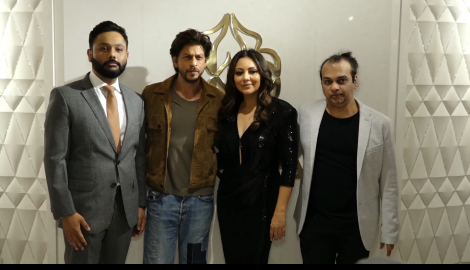 Power couple Shah Rukh Khan and Gauri Khan make a stunning appearance at an event