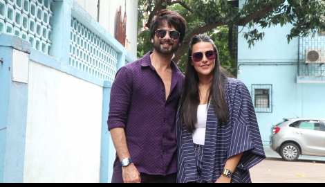 Shahid Kapoor dresses casually as he attends Neha Dhupia's chat show