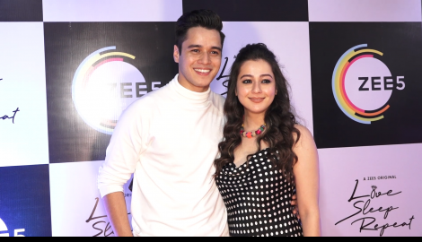 Anshuman Malhotra, Raima Sen and others were all smiles at Love, Sleep, Repeat's special screening