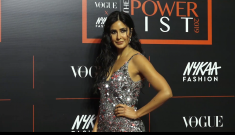 Katrina Kaif looks ravishing in a shimmery dress as she attends an event