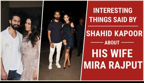 Shahid Kapoor and Mira Rajput, here are some of the adorable things the actor has said about his ladylove