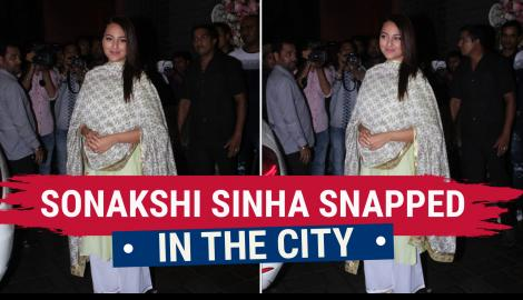 Sonakshi Sinha  looks gorgeous in traditional attire; Check it out