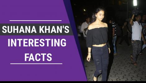 10 Facts about Suhana Khan which will leave you baffled