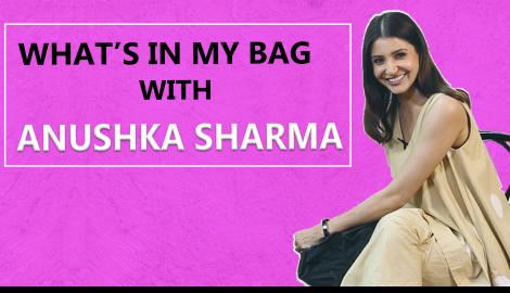What's in my bag with Anushka Sharma