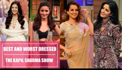 Aishwarya Rai Bachchan, Katrina Kaif, Anushka Sharma: The Kapil Sharma Show best and worst dressed