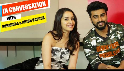 Arjun Kapoor and Shraddha Kapoor get candid about Half Girlfriend