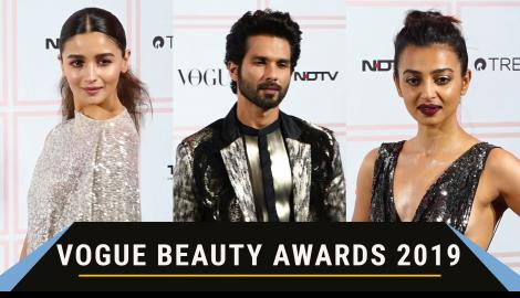Alia Bhatt, Shahid Kapoor and others walk down the red carpet at the Vogue Beauty Awards 2019