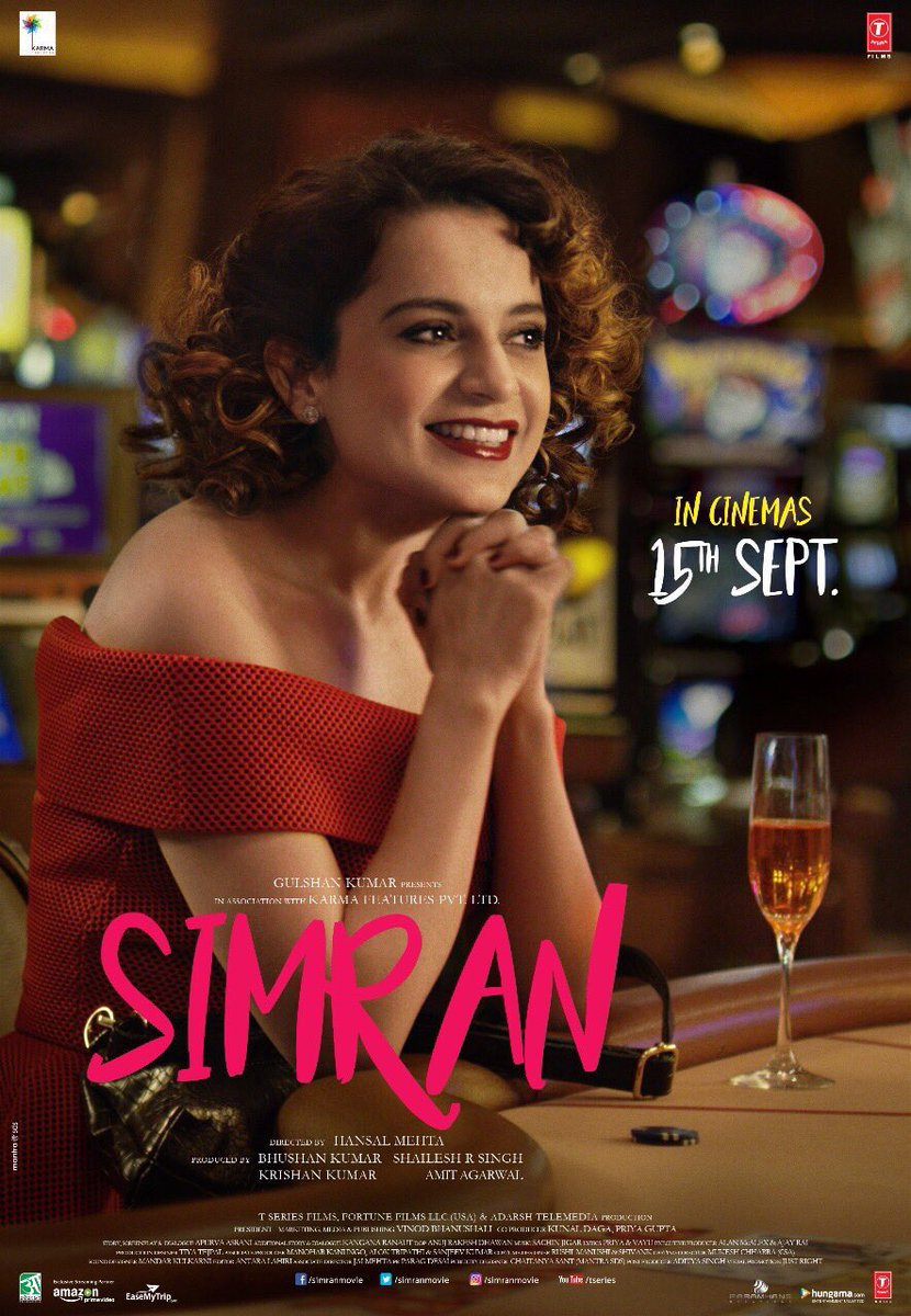 Image result for simran poster
