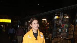 Airport Diaries: Anushka Sharma is back from Singapore post unveiling her wax statue at Madame Tussauds