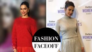 Fashion Faceoff: Deepika Padukone or Priyanka Chopra; who wore the sweater-pleated skirt combination better?