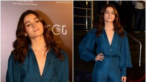Alia Bhatt works a teal jumpsuit at an awards event : Yay or Nay?