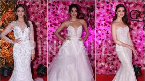 Bridal gowns on Red Carpet - the new thing?