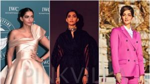 Style File : Sonam Kapoor in Mark Bumgarner, Calvin Klein and Ralph and Russo