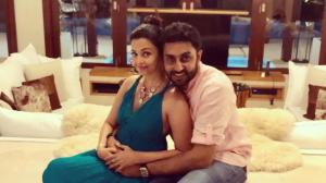 Aishwarya Rai Bachchan and Abhishek Bachchan's THESE pics are too cute to miss; Check it out