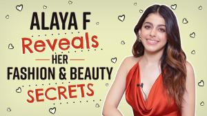 Jawaani Jaaneman star Alaya F REVEALS how to get ready in 10 minutes, her favourite beauty hacks and more