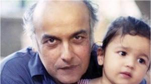 Sadak 2 star Alia Bhatt's THESE pictures with her father and filmmaker Mahesh Bhatt will win your heart