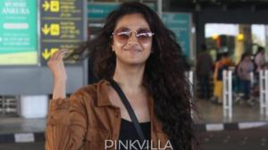 All the times Keerthy Suresh went de glam at the airport and left us in awe of her flawless natural beauty