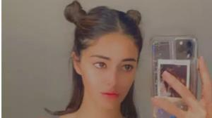 Ananya Panday: From space buns to pineapple bun, 6 times the actress experimented with her hairstyle