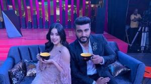 Koffee with Karan sneak peek: Arjun is left embarrassed as Karan discusses his sex life in front of Janhvi