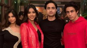 Aryan Khan & Suhana Khan: Shah Rukh Khan's kids are the life of a party and these UNSEEN photos explain why