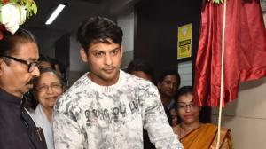 Bigg Boss 13 winner Sidharth Shukla looks uber cool in casuals while inaugurating a hospital ward in the city