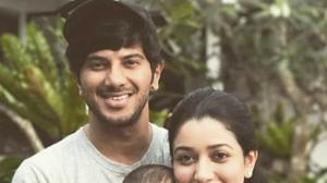Dulquer Salmaan's PHOTOS with megastar dad Mammootty, wife Amal, daughter Maryam Ameerah redefine love