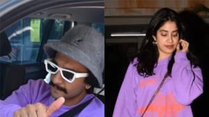 Fashion Faceoff: Ranveer Singh or Janhvi Kapoor, who wore the purple sweatshirt better?