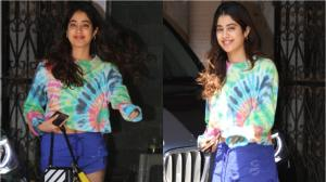 PHOTOS: Janhvi Kapoor aces her no makeup look as she gets papped outside her Pilates class