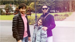 Namrata Shirodkar Birthday Special: 8 Photos that prove she's a doting mother to kids Gautam and Sitara