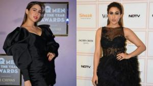 PHOTOS: 6 Times Love Aaj Kal star Sara Ali Khan stunned in black; Check it out
