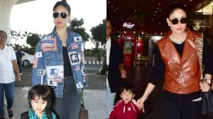 PHOTOS: Kareena Kapoor Khan, Taimur Ali Khan's airport looks prove they are the MOST stylish mother and son