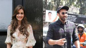 PHOTOS: Malang stars Disha Patani and Aditya Roy Kapur get papped in the city having lunch; Check it out