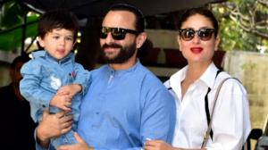 PICS: When Kareena Kapoor Khan posed with Saif Ali Khan & Taimur carrying a Tom Ford bag worth a bomb