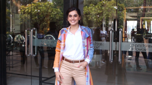Taapsee Pannu and Bhumi Pednekar promote Saand Ki Aankh; Kangana Ranaut gets spotted in the city
