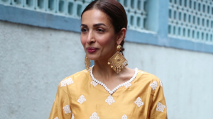 Malaika Arora slays the traditional look; Rajkummar Rao nails the suave look